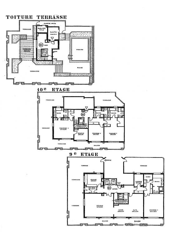 Triplex building plans find house plans for Triplex floor plans