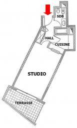 Vente Appartement Monaco STUDIO PATIO PALACE - JARDIN EXOTIQUE