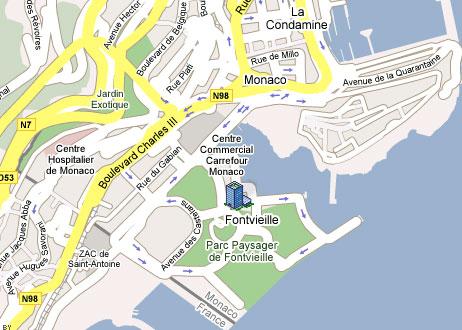 Appartements vendre ou louer dans l 39 immeuble le for Chambre de commerce monaco