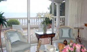 Cap d'Ail villa with a panoramic sea view