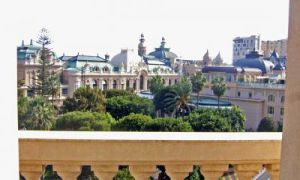 Facing the Casino of Monte Carlo
