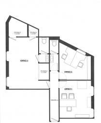 Properties for Sale Monaco Apartment - A SAISIR ! Appartement usage mixe centre condamine. - Monaco Monte-Carlo
