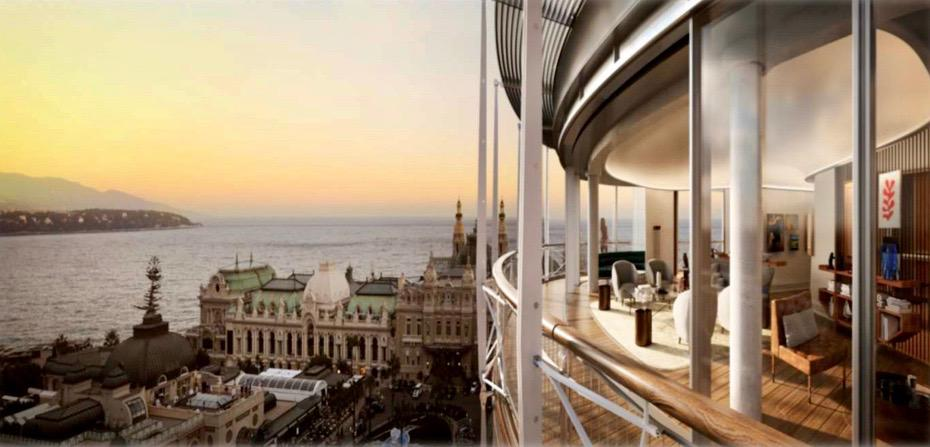 To rent Penthouse Monaco Residencia One Monte Carlo  - Agence de la Gare