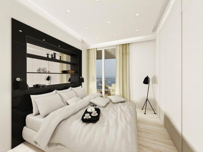 For Rent Apartment Monaco 2P - VUE MER - MIRABEAU  - Agence de la Gare