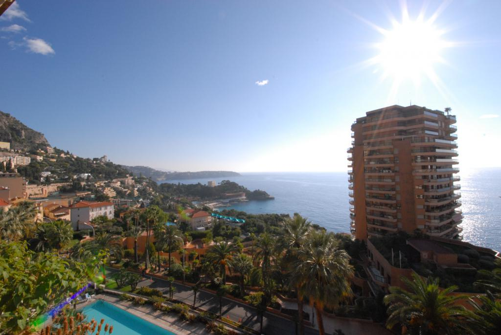 For Rent Apartment Monaco Magnificent 6 rooms - terraces of the PARC ST ROMAN  - Agence de la Gare