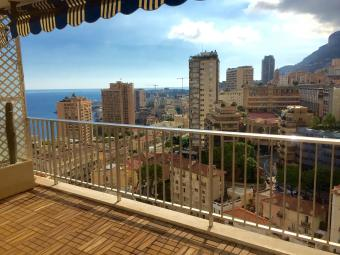 For Rent Monaco - Beautiful three rooms high floor - Monaco Monte-Carlo