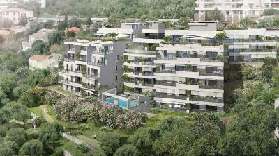 Properties for Sale France Apartment - Beausoleil: Beautiful three-room with panoramic views of the sea and garden! - Monaco Monte-Carlo