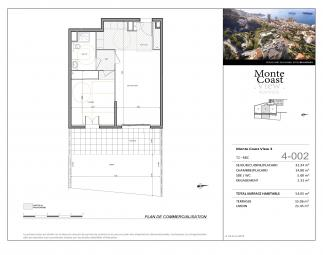 Agence EIP - Exclusive to Monaco: The Monte-Coast view Beausoleil // 2p Temptation with Garden - Monaco Monte-Carlo