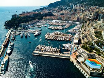 Agence EIP - Restaurant on the port of Monaco - Monaco Monte-Carlo