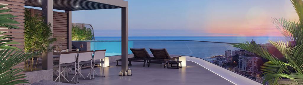 Monaco Villas - La résidencemoderne 3P+piscine - Monaco Monte-Carlo