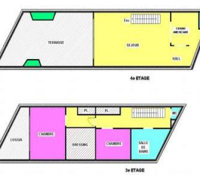 Monaco Villas - Monte Carlo Star- 2 Bedroom Duplex - Monaco Monte-Carlo