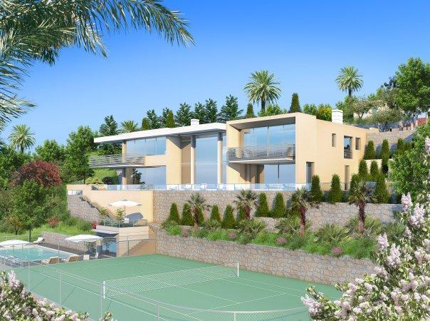 Monaco Villas - Exceptional Villa in Villefranche - Monaco Monte-Carlo