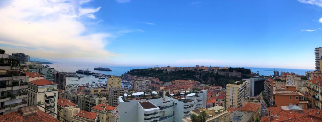 Blu Immobilier - 2 PIÈCES MAGNIFIQUE VUE PORT HERCULE USAGE MIXTE AVEC PARKING - Monaco Monte-Carlo