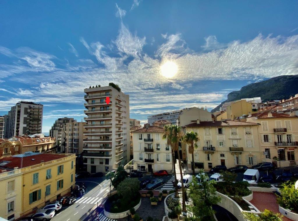 Blu Immobilier - STUDIO CENTRAL VUE MER USAGE MIXTE PARKING - Monaco Monte-Carlo