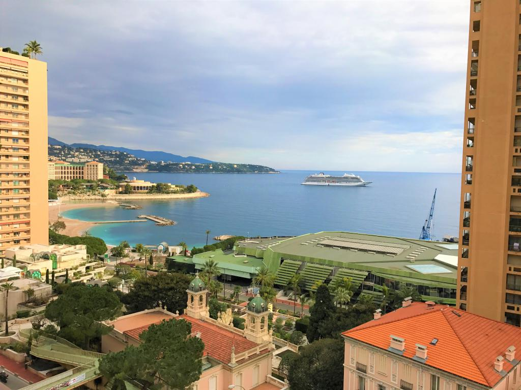 Blu Immobilier - GRANDE BRETAGNE 4 ROOMS  SEA VIEW CELLAR PARKING - Monaco Monte-Carlo