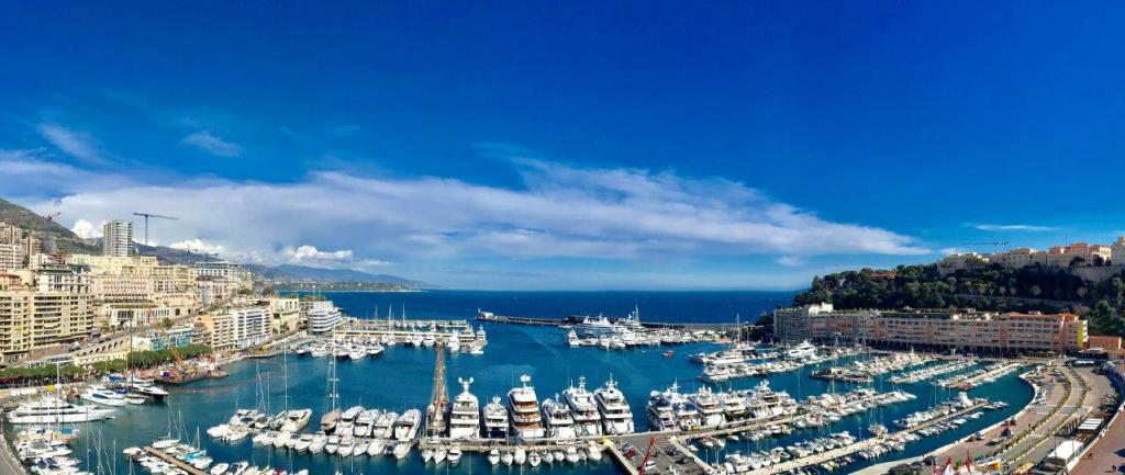 Blu Immobilier - PENTHOUSE PORT HERCULE - GRAND PRIX FORMULE 1 - Monaco Monte-Carlo