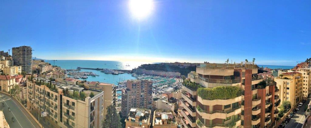 Blu Immobilier - HERAKLEIA 3 PIÈCES AVEC VUE PORT HERCULE - Monaco Monte-Carlo