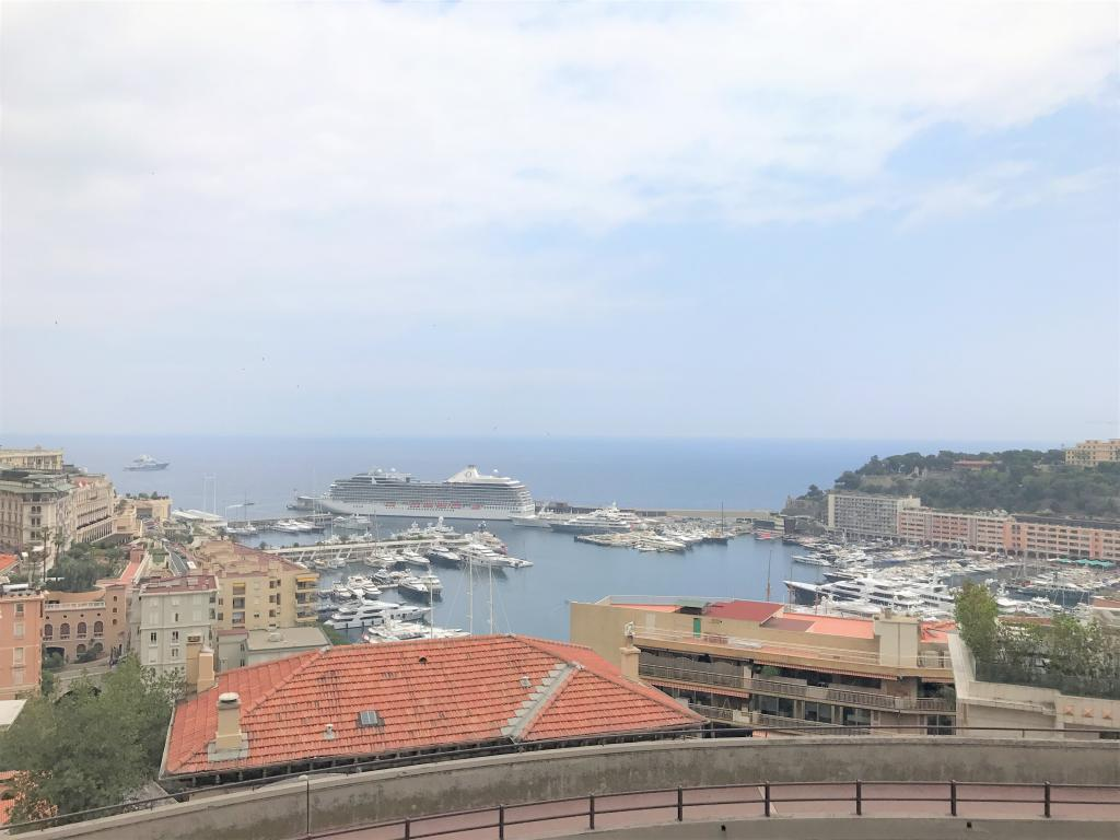 Blu Immobilier - HARBOUR LIGHTS 3 PIECES VUE PORT HERCULE - Monaco Monte-Carlo