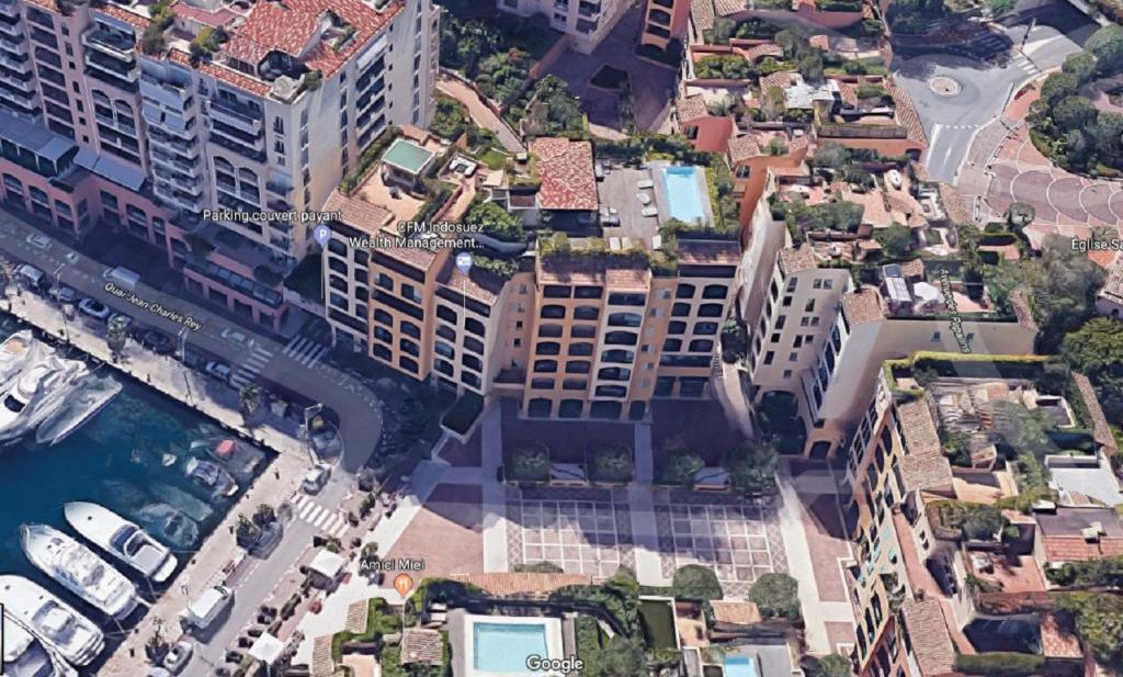 Monaco Villas - FONTVIEILLE MANTEGNA 2 PIÈCES 83 m² CAVE ET PARKING - Monaco Monte-Carlo