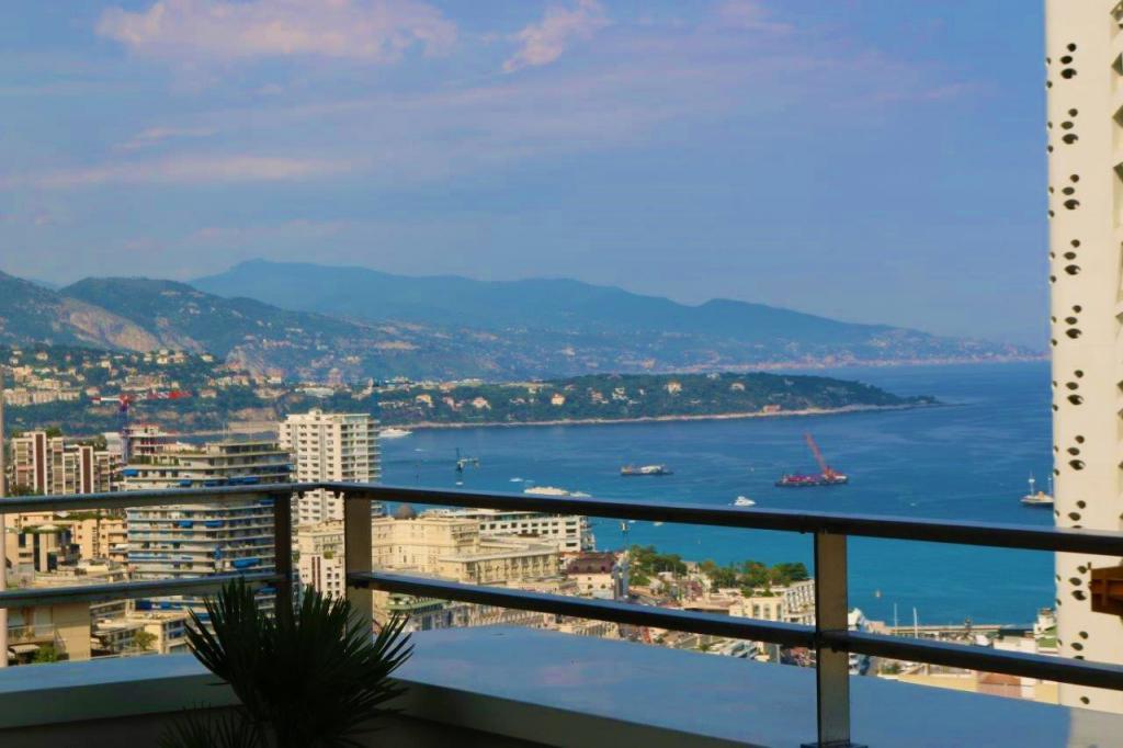 Blu Immobilier - MONTE CARLO VIEW 2 PIECES ETAGE ÉLEVÉ VUE PORT - Monaco Monte-Carlo