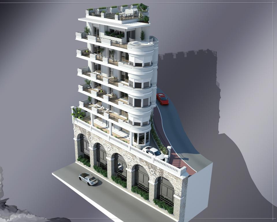 Blu Immobilier - PAVILLON MAURICE - 4 PIÈCES - WHOLE FLOOR - Monaco Monte-Carlo