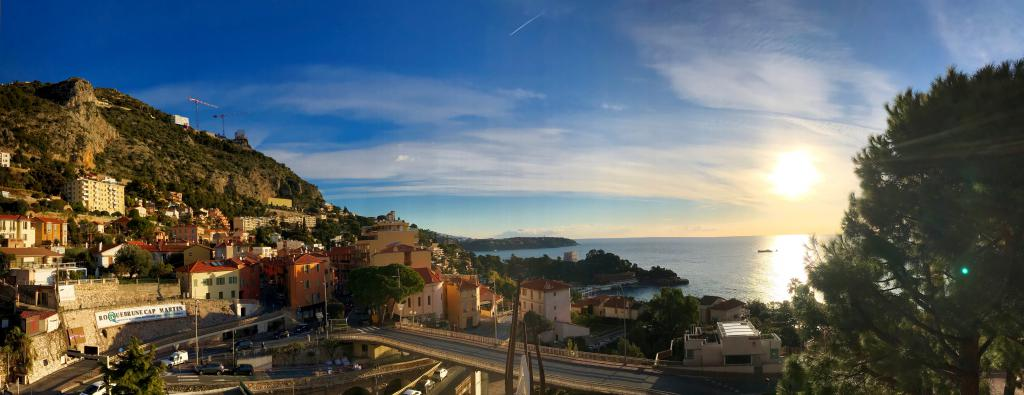 Blu Immobilier - PARC SAINT ROMAN 3 ROOMS WITH SEA VIEW CELLAR AND PARKING - Monaco Monte-Carlo