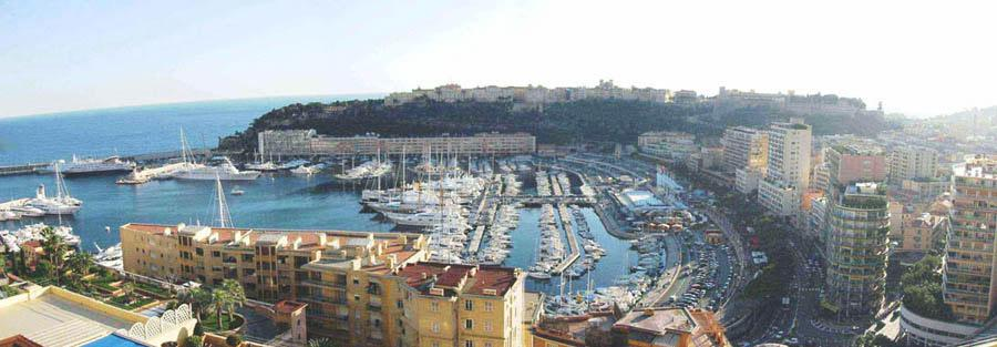 Monaco Villas - PENTHOUSE ROSE DE FRANCE VUE PORT HERCULE - Monaco Monte-Carlo