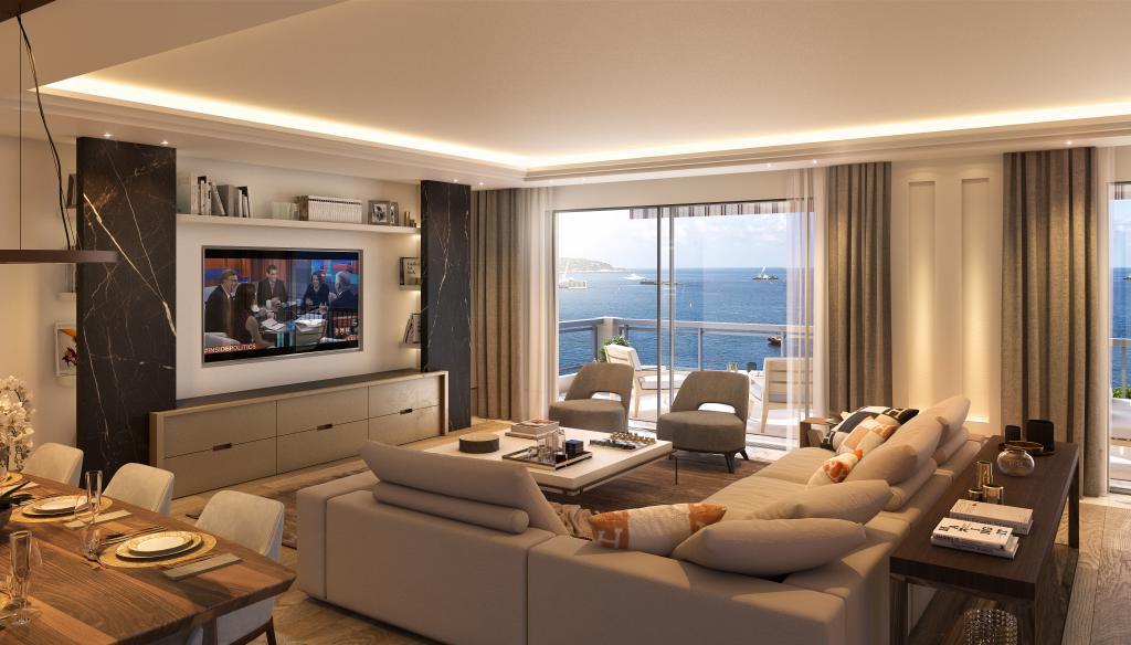 Blu Immobilier - LARVOTTO LE RAFFINEMENT EXTRÊME POUR UNE VUE FÉERIQUE - Monaco Monte-Carlo