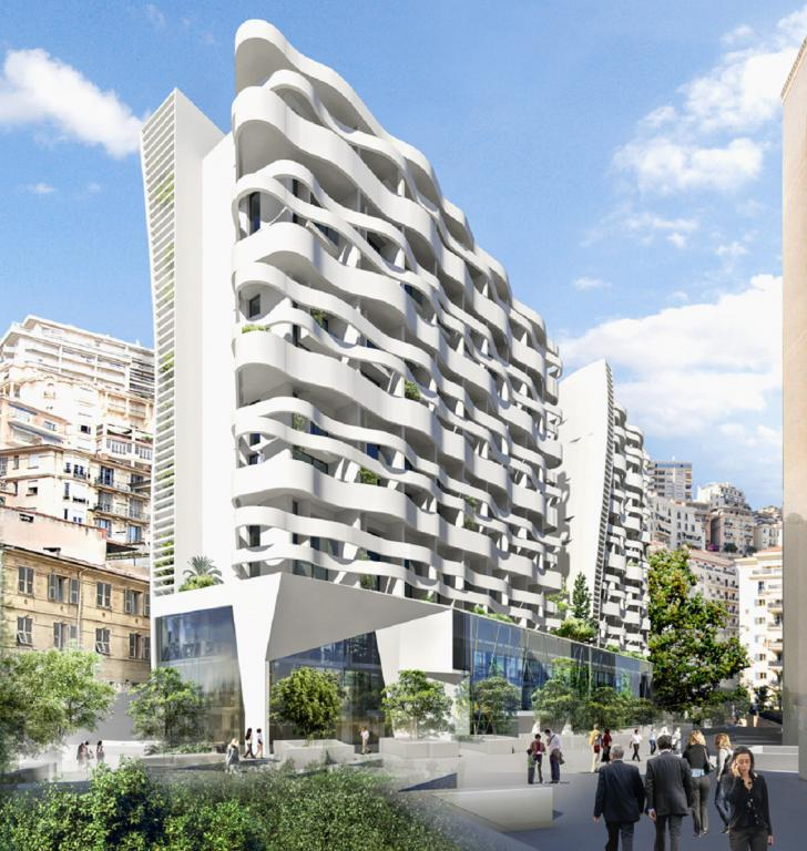 Blu Immobilier - STELLA LARGE NEW 2 ROOMS DUPLEX MIXTED USE WITH PARKING - Monaco Monte-Carlo