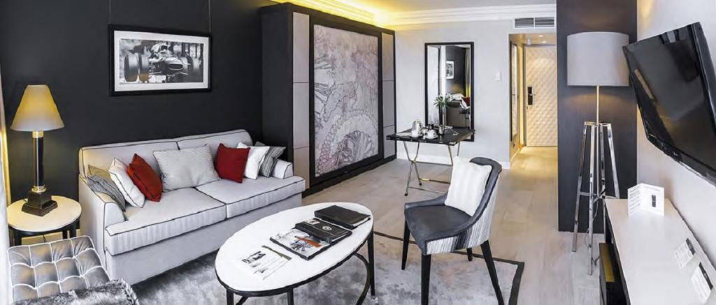 Monaco Villas - Résidences Fairmont Monte Carlo Studio Vue Patio - Monaco Monte-Carlo