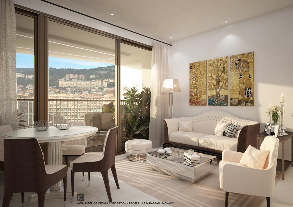 Blu Immobilier - MIRABEAU 2 PIÈCES ÉTAGE ÉLEVÉ - Monaco Monte-Carlo
