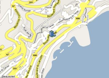 Tour du Larvotto - Building Monaco - 5, descente du Larvotto, Monaco