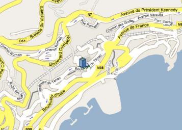 Les Dauphins - Residenza Monaco - 26, bd. du Ténao, Monaco