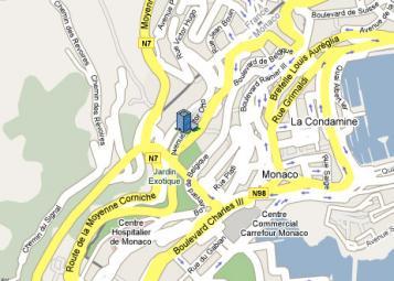 Villa Bosio - Residenza Monaco - 39, av. Hector Otto, Monaco