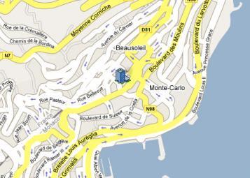 Villa Céline - Residenza Monaco - 6, av. Saint-Michel, Monaco